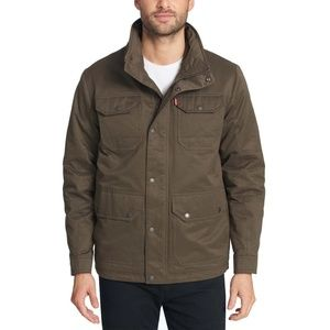 Levi's Men's Military Field Jacket Olive